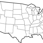 Printable Us Blank Map Clipart Best