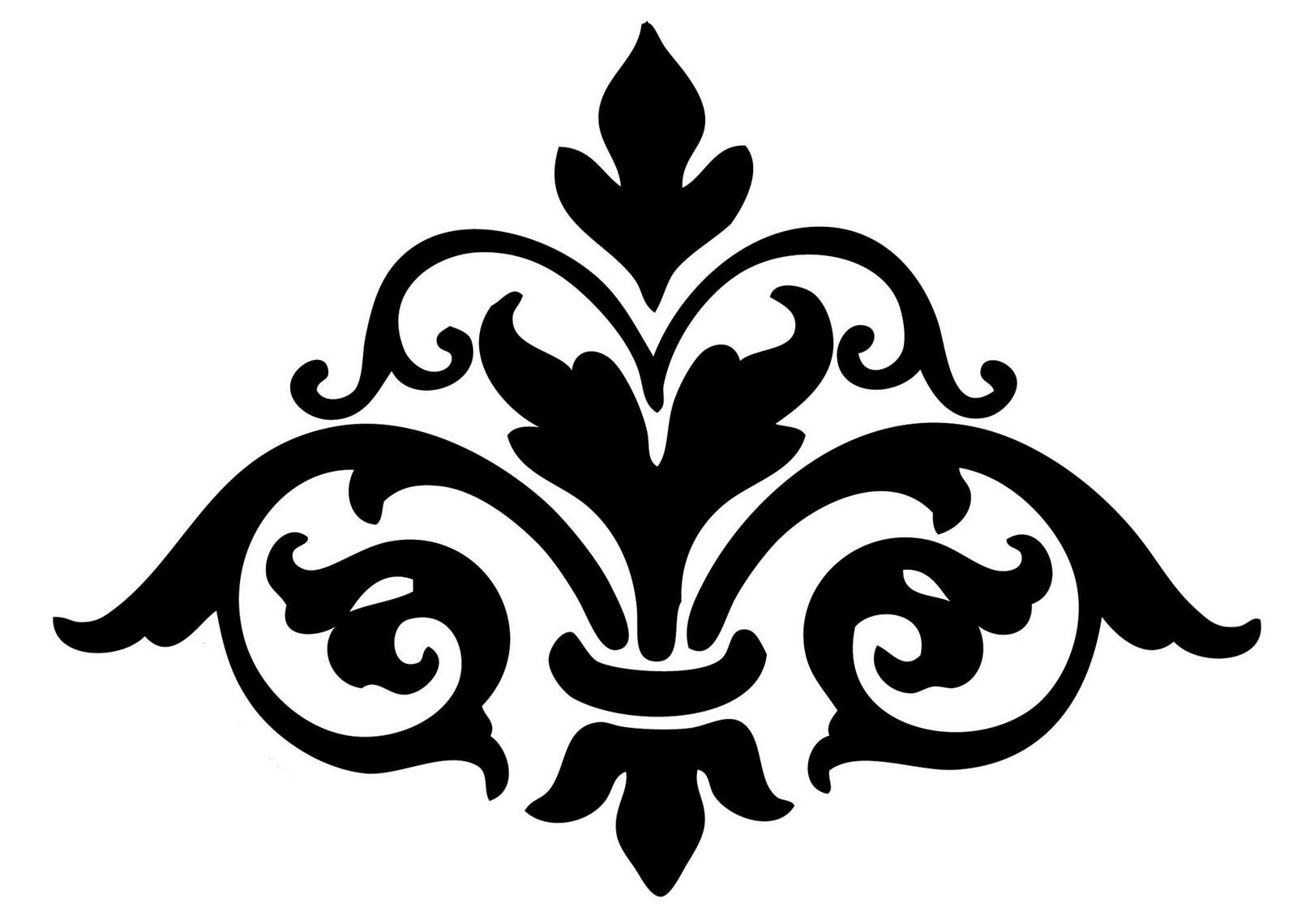 Damask Clip Art