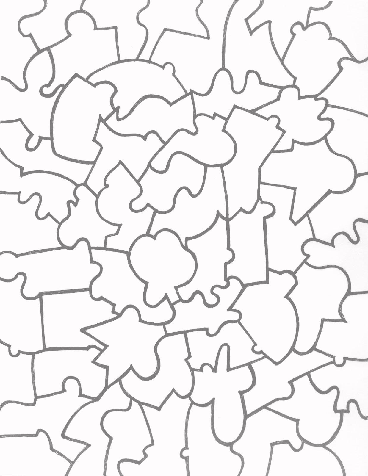 Printable Blank Puzzle