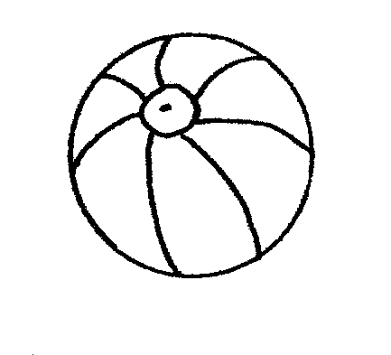 beach ball printable clipart best