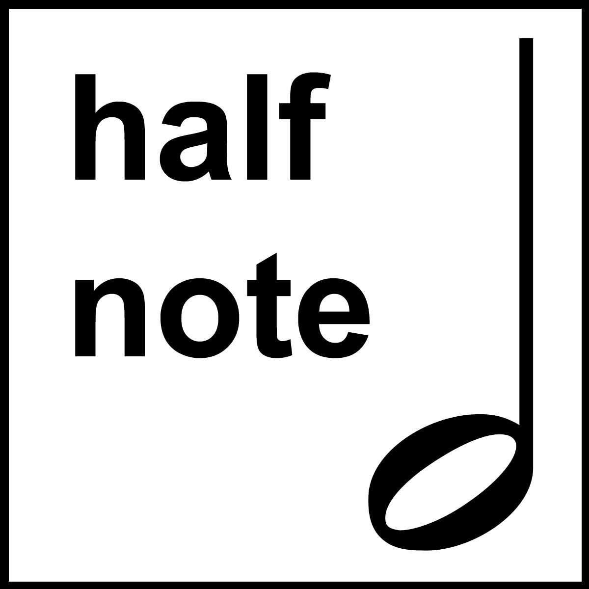 Beth S Music Notes Half Note Lesson