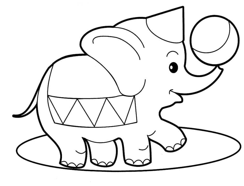 elephant picture for kids clipart best