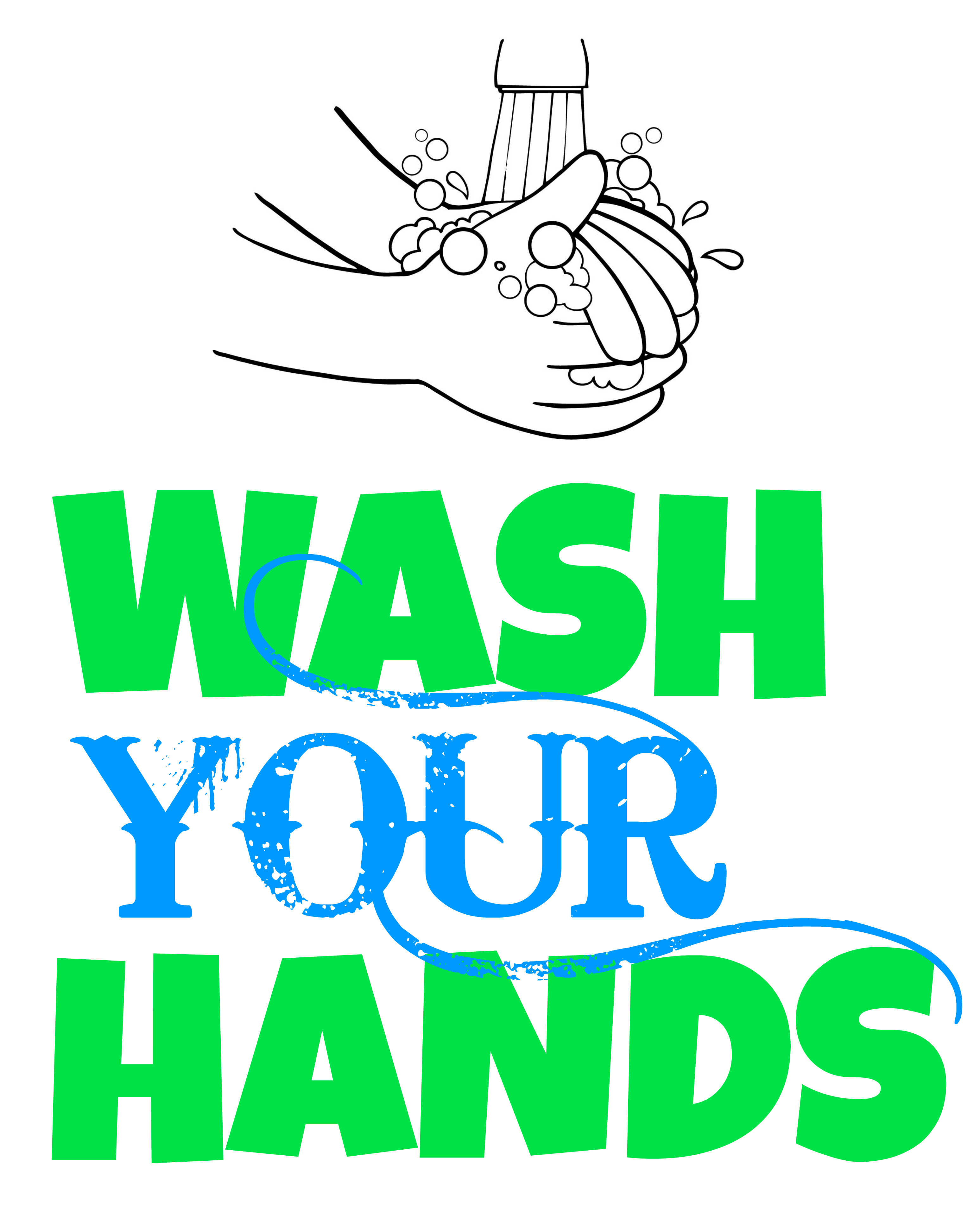 Free Print Out Wash Hand Sign