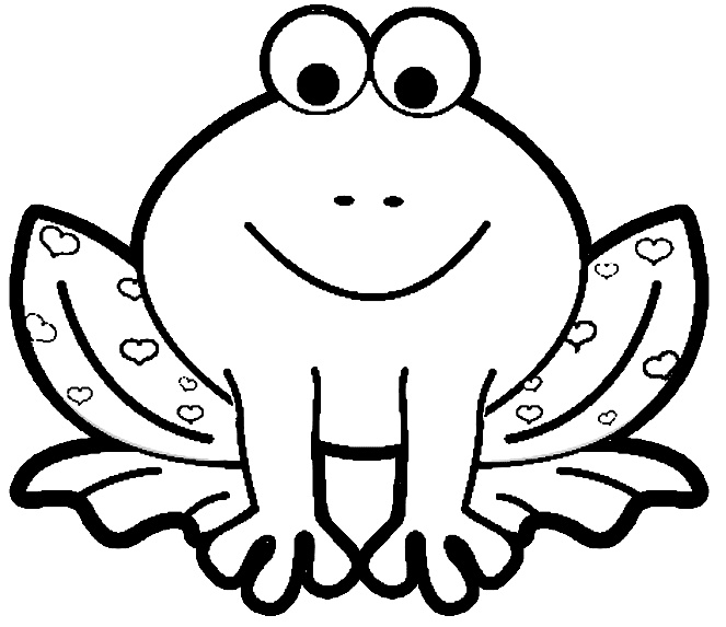free printable animal coloring pages frogs frog color printables