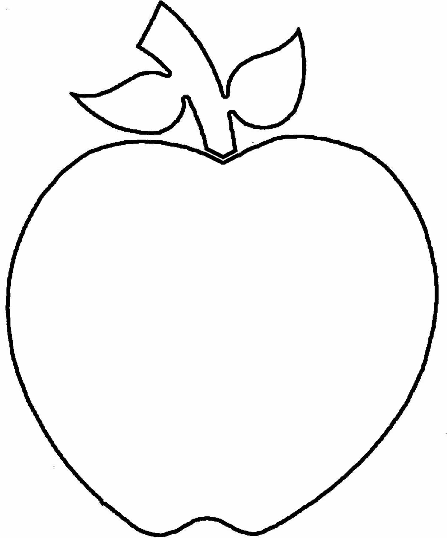 Five Apples Clip Art