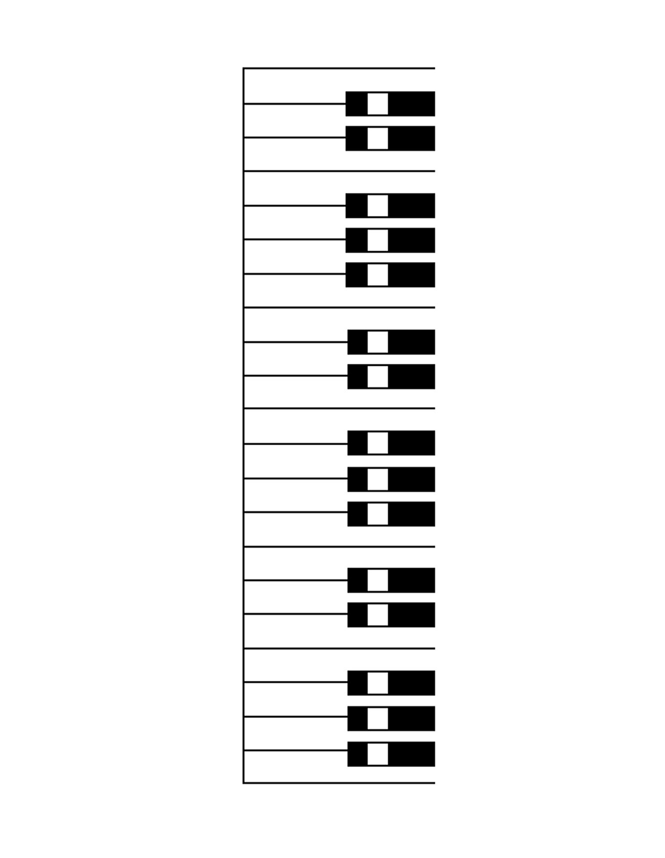 Blank Keyboard Template | Computer Keyboard Template Printable Blank Printable Puter Keyboard