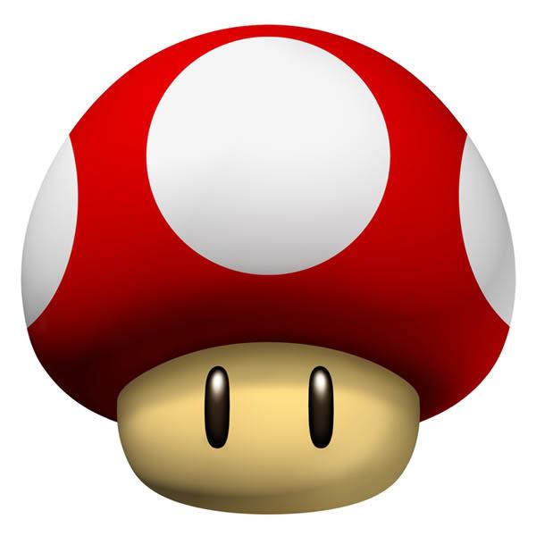 Super Mario Brothers Wii Mushroom