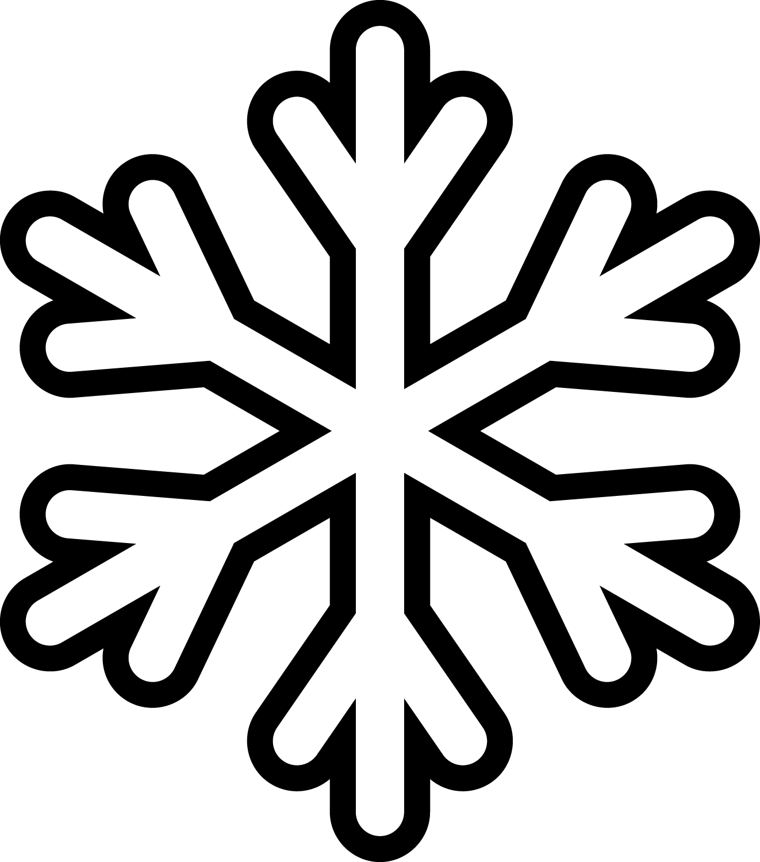 Snowflakes Outline