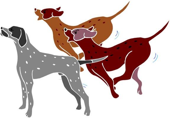 Dog Barking Clipart - ClipArt Best (576 x 400 Pixel)