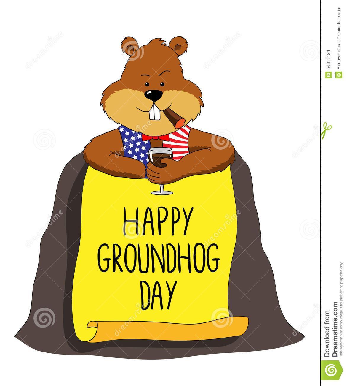 Ground Hog Day Clip Art