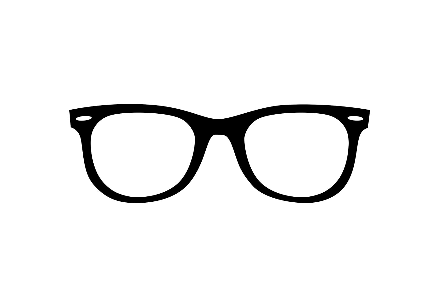 Black Sunglasses Vector