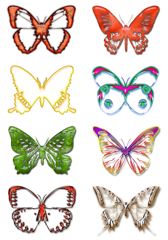 color butterflies free butterfly tattoo designs free tattoo