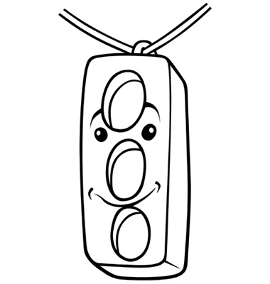 stop light coloring page clipart best