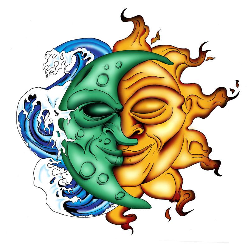 Moon And Sun Design - ClipArt Best (800 x 798 Pixel)