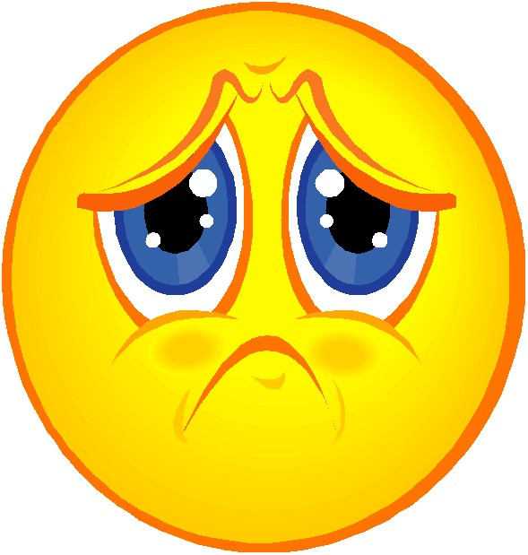 Image result for free clip art frowny face