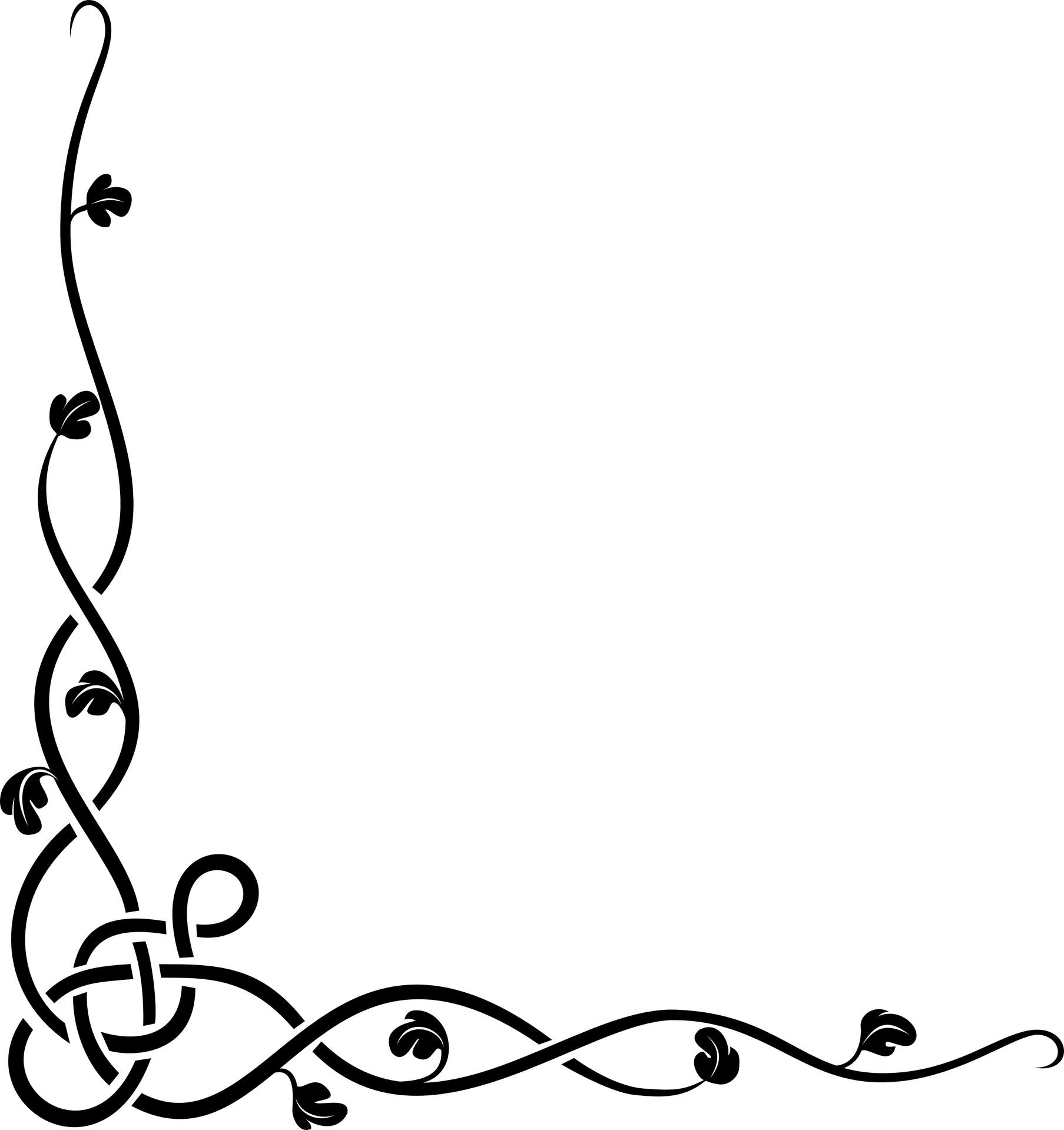 Celtic Knot Page Border