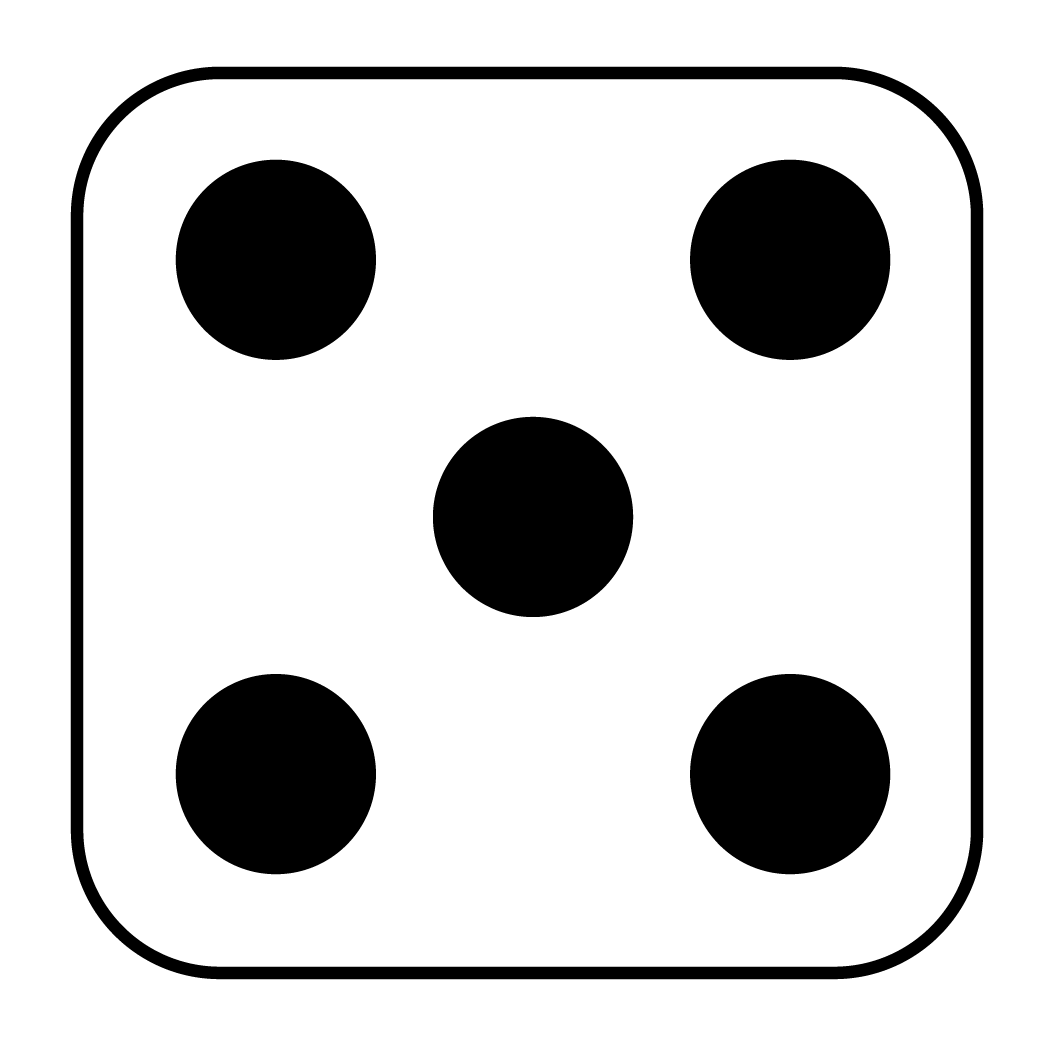 Images For Gt Dice Template With Dots
