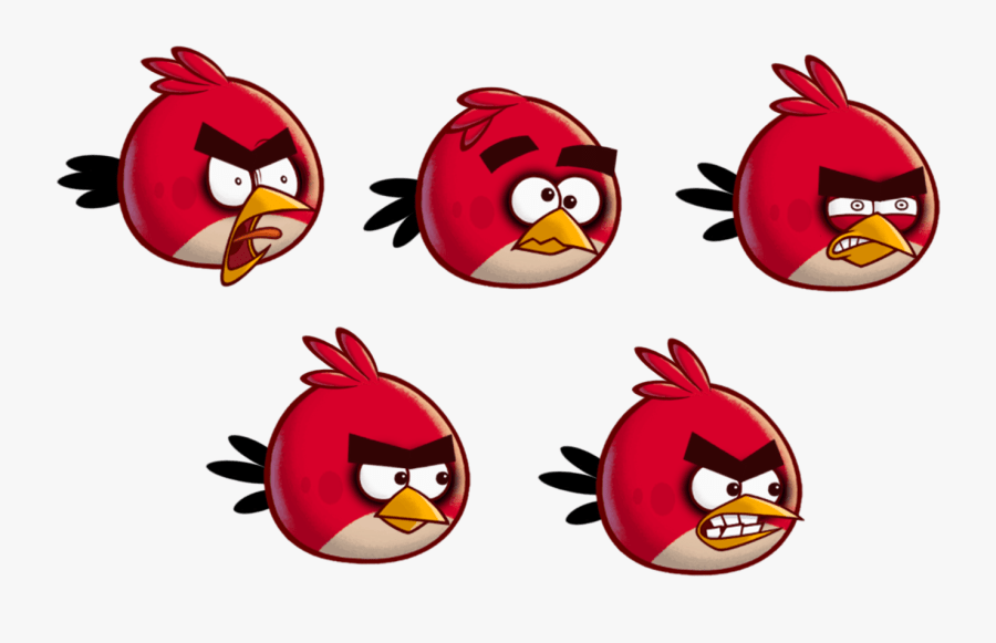 angry birds red sprites free