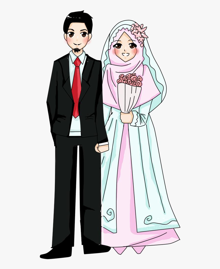 Transparent Muslim Png Muslim Wedding Cartoon Png Free Transparent Clipart Clipartkey