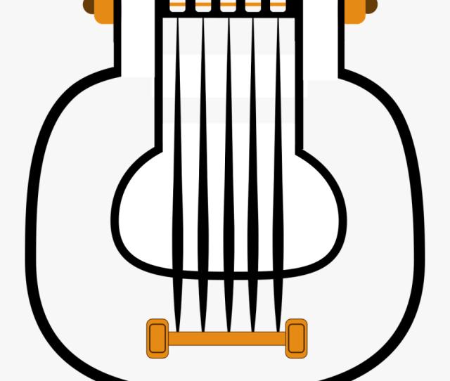 Harp Music Ages Free Picture Harpa Gambar Sketsa Alat Musik