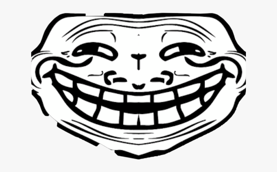 Transparent Troll Face Clipart Troll Face Front View Free
