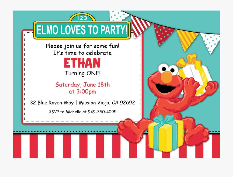 elmo clipart invitation elmo birthday