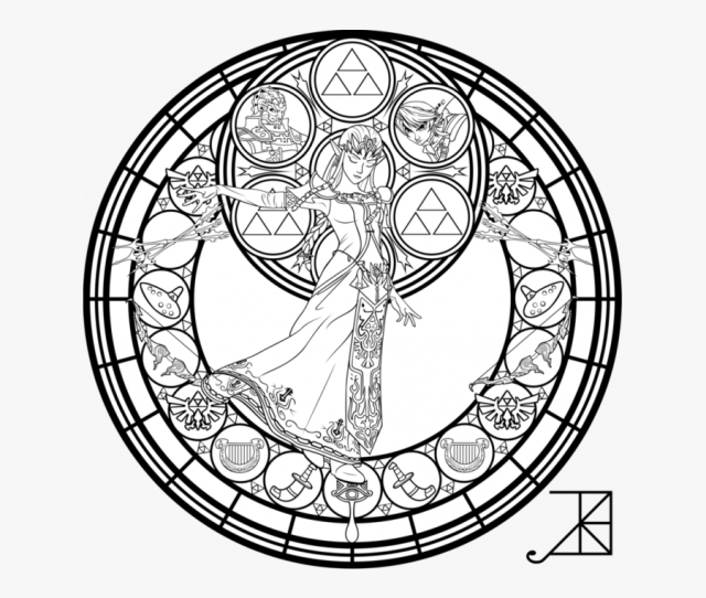 Legend Of Zelda Coloring Pages Free Transparent Clipart Clipartkey