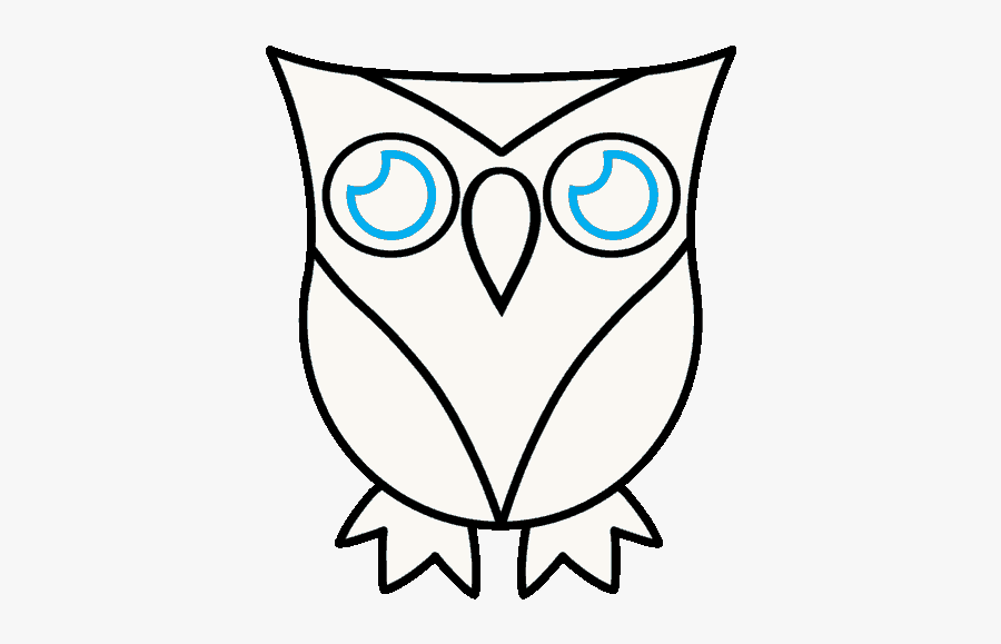 Owl Drawing Easy Cute Free Transparent Clipart Clipartkey