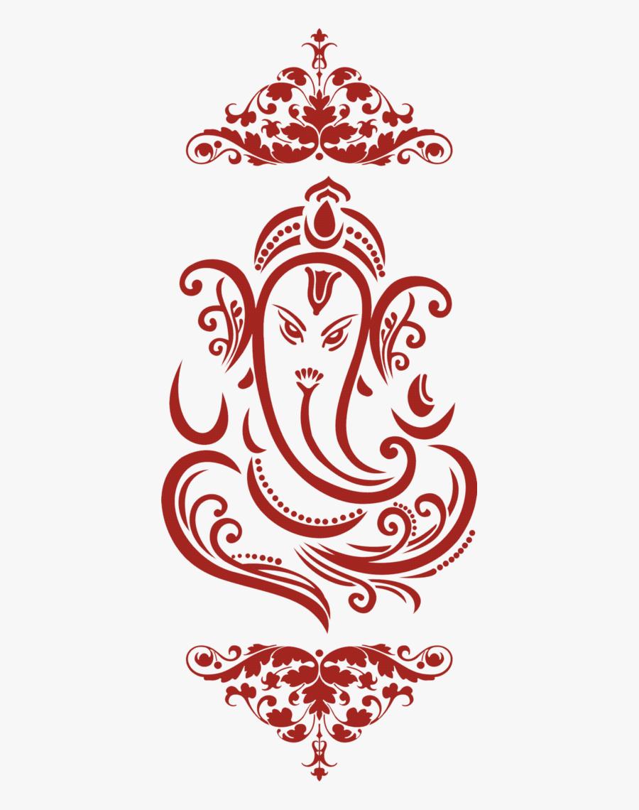ganesh logo for wedding cards png