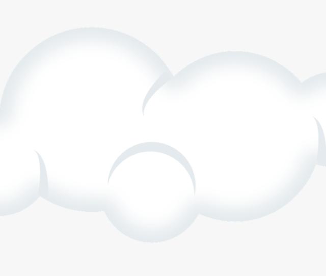 Cloud Clipart Transparent Background Awan Putih Kartun Png