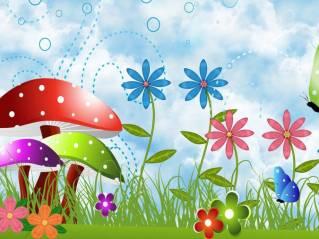 Image result for school garden clipart