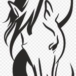 Clipart Horse Head Silhouette Free Vector Free Transparent Png Clipart Images Download