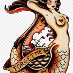 Sailor Jerry Mermaid Tattoo Free Transparent Png Clipart Images Download