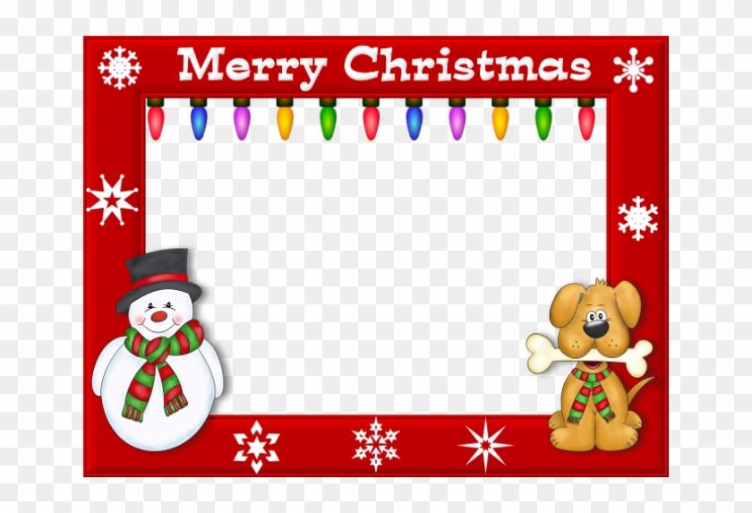 Cute Christmas Borders And Frames Printable Christmas