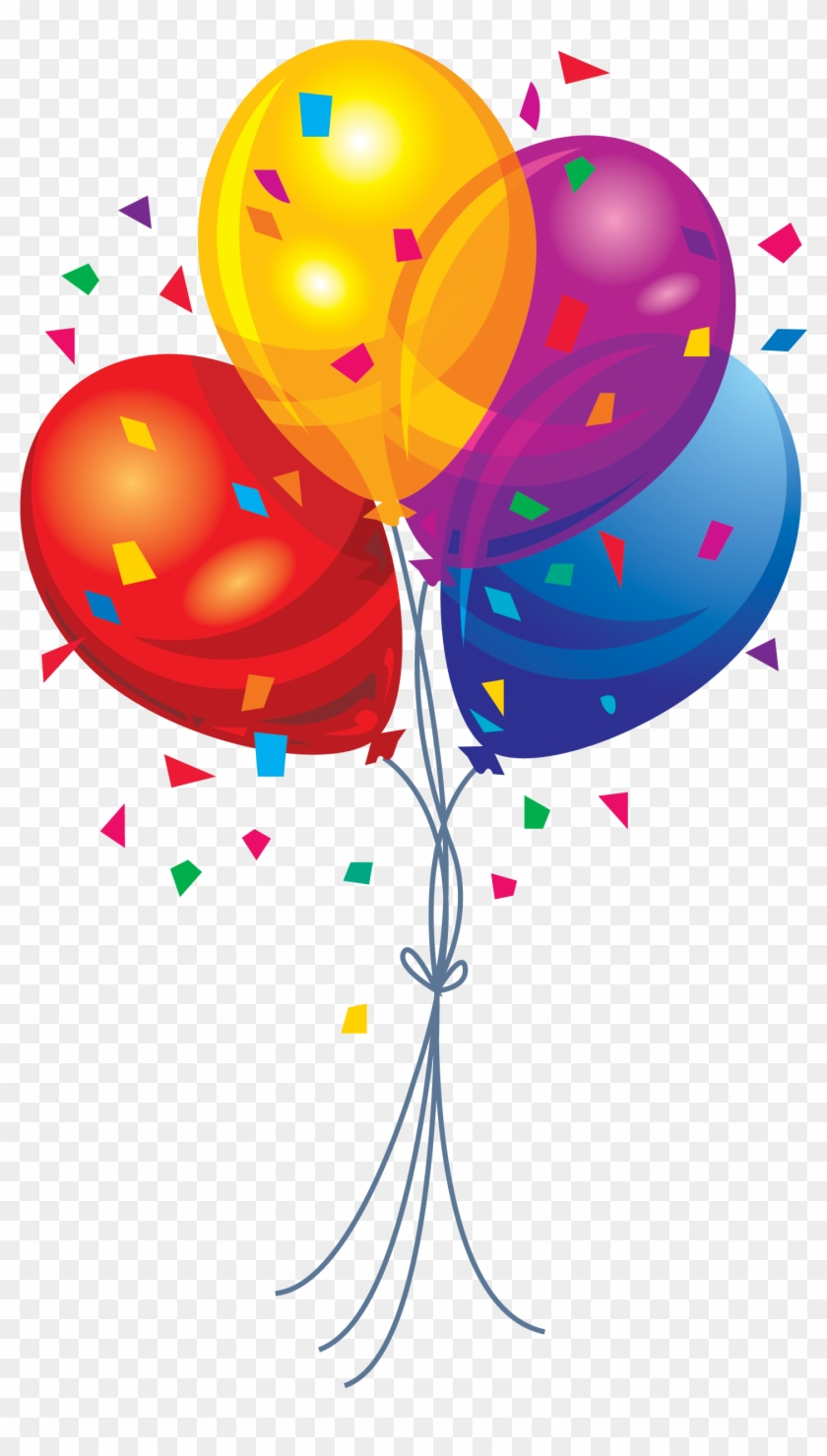 Happy Birthday Balloons Clipart Birthday Balloons Png Free Transparent Png Clipart Images Download
