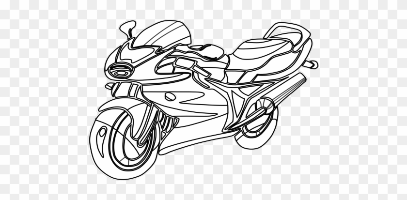 Printable Trucks To Color Motorcycle Coloring Pages Motorcycle Coloring Page Printable Free Transparent Png Clipart Images Download