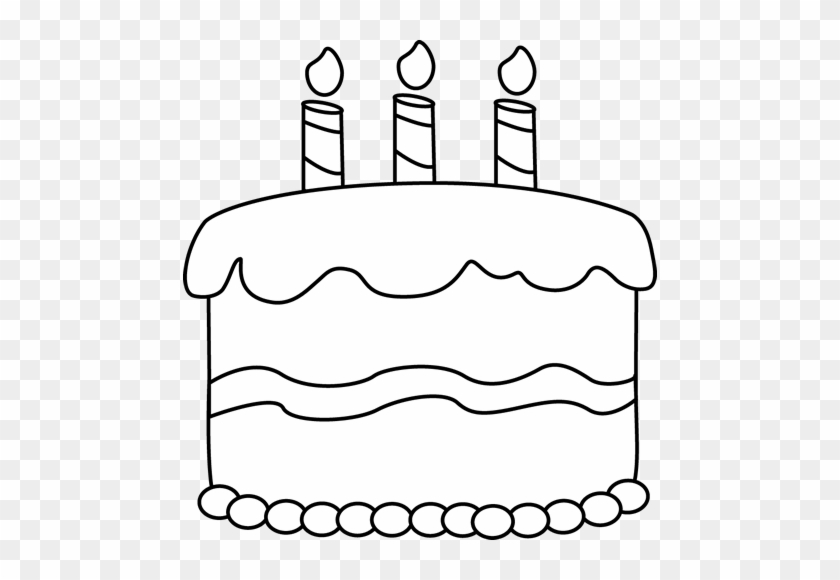 Small Black And White Birthday Cake Birthday Cake Clip Art Free Transparent Png Clipart Images Download