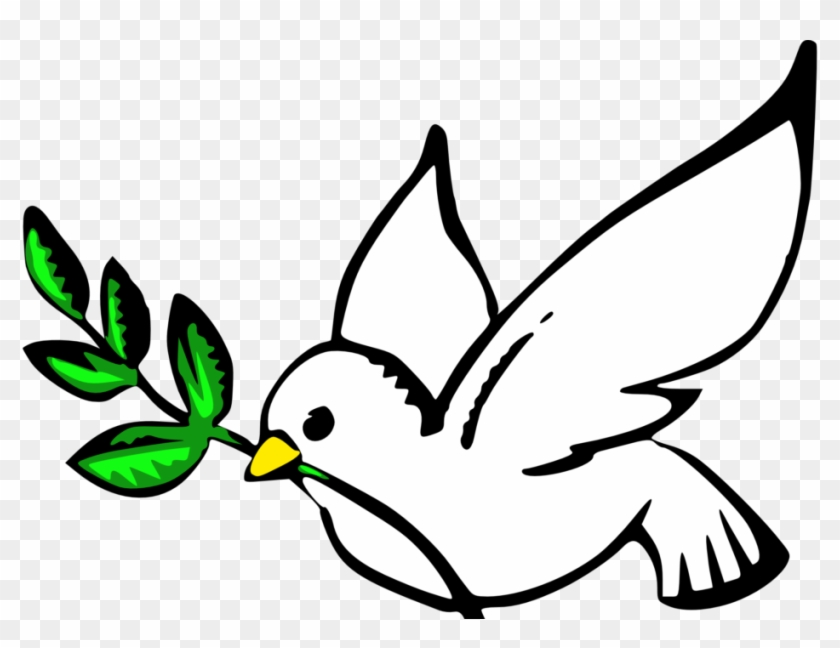 Dove Clipart Hope Dove Sign Of Peace Free Transparent Png Clipart Images Download