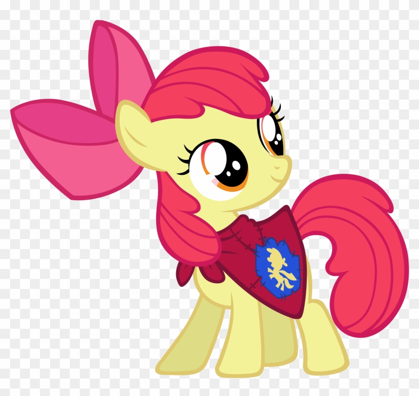 Apple Bloom Logo Images Gallery Cutie Mark Crusaders Cape Free Transparent Png Clipart Images Download