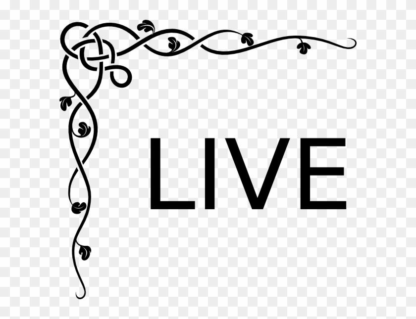 live clip art border design for