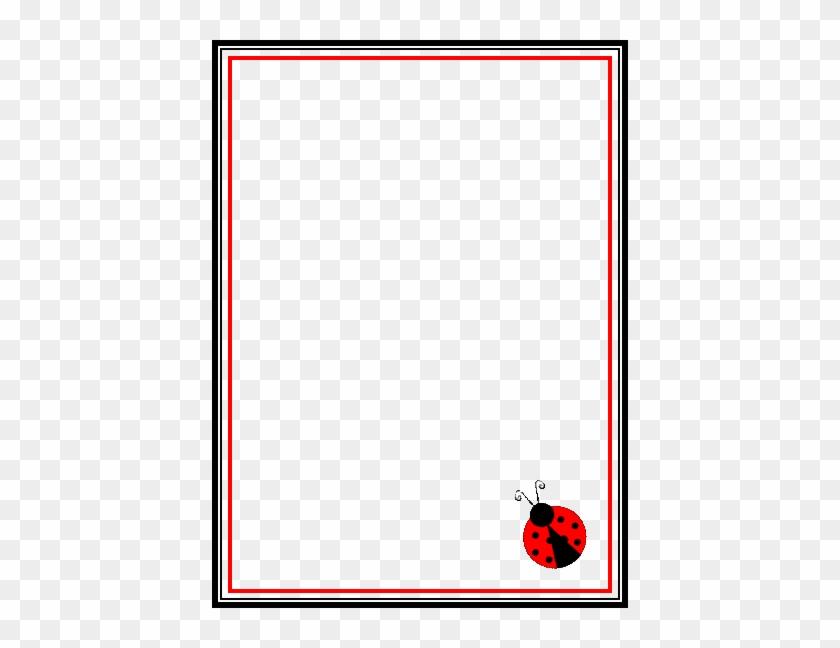 blank lady bug invitation ladybug