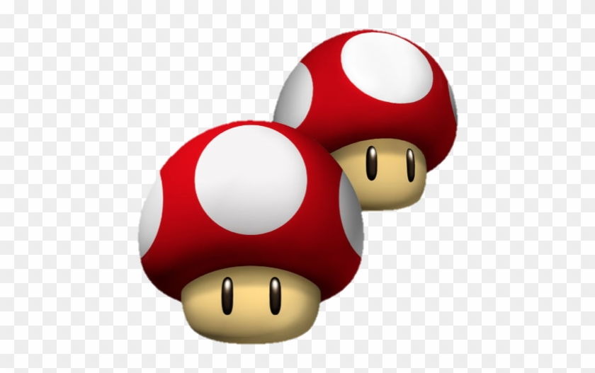 Double Mushroom Mario And Luigi Mushrooms Free Transparent Png Clipart Images Download