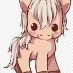 Image Result For Cute Cartoon Horses Kawaii Horse Free Transparent Png Clipart Images Download