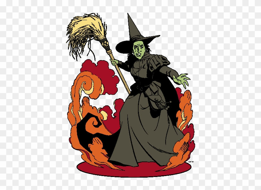 wizard of oz clipart 2 good vs wicked