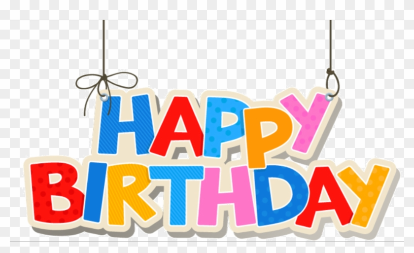 1st Birthday Transparent Background Png Happy First Birthday Text Free Transparent Png Clipart Images Download