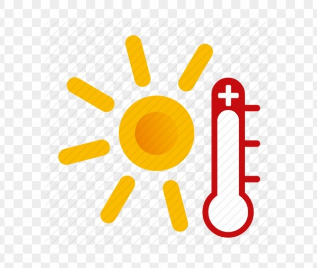 Blistering Heat In Se Hot Weather Icon Png 184444