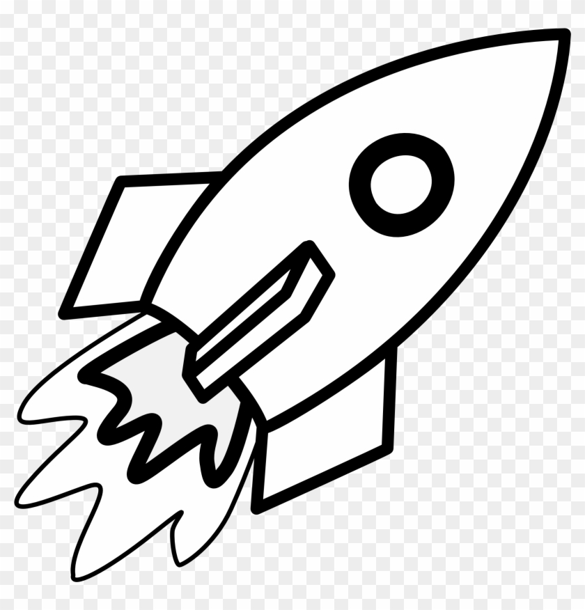 Rocket Clipart Black And White Rocket Coloring Pages Free Transparent Png Clipart Images Download