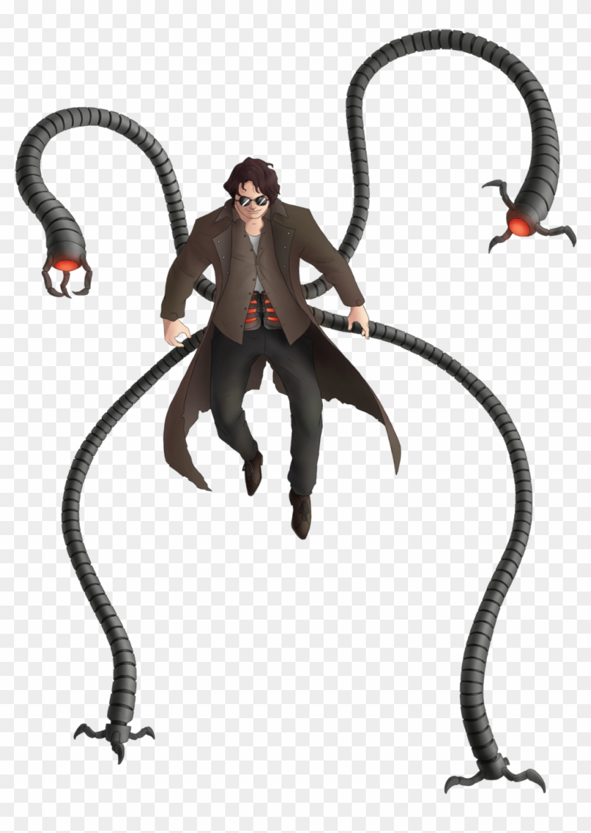 003 Doctor Octopus By Green Mamba Spiderman Dr Octopus Png Free Transparent Png Clipart Images Download