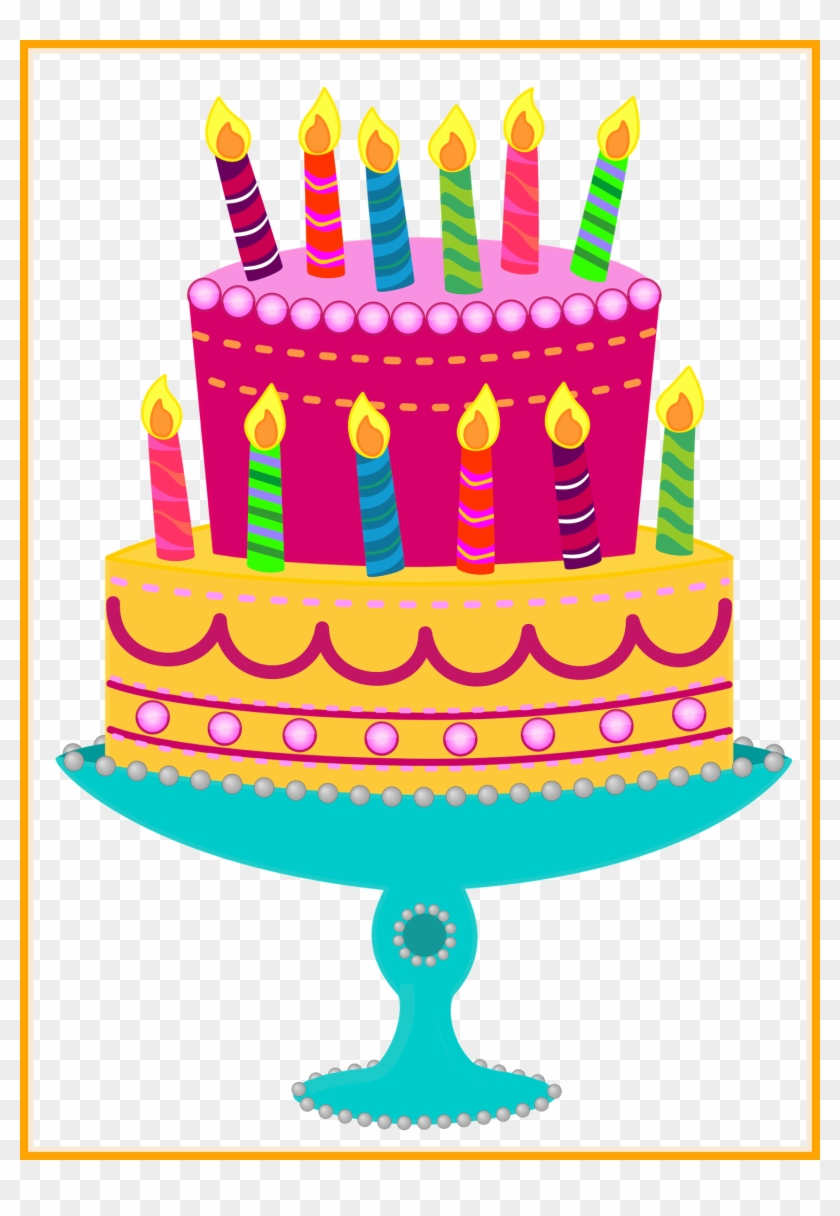 Birthday Cake Png Gif Happy Birthday Cake Clip Art Birthday Cake Clipart Transparent Background Free Transparent Png Clipart Images Download
