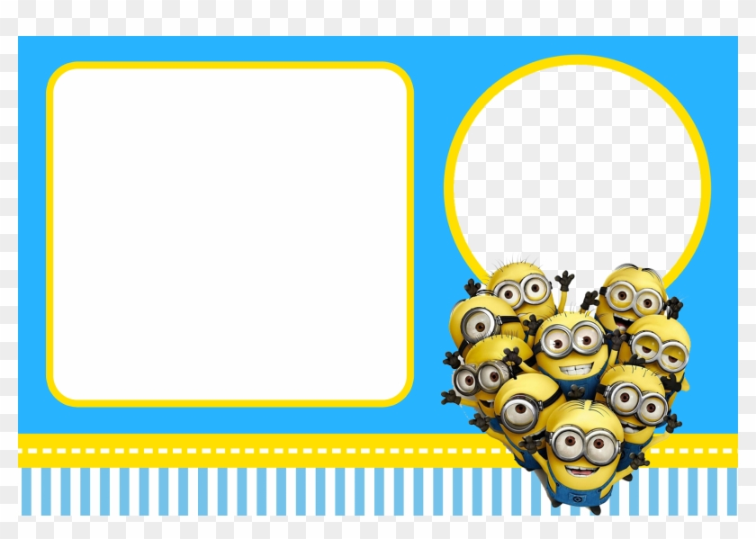 Free Despicable Me Party Invitations Invitation Birthday Card Minions Free Transparent Png Clipart Images Download